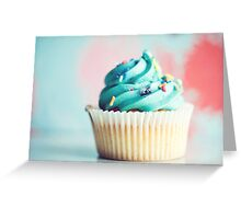 blue... Greeting Card
