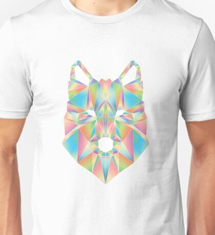 Low-Poly Wolf Unisex T-Shirt