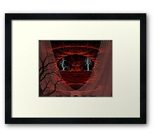 Hiden Cove Framed Print