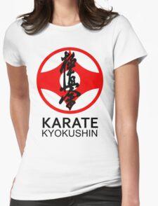 Kyokushin Karate Kanji and Symbol  Womens Fitted T-Shirt