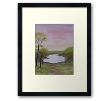 A Place to Read Framed Print