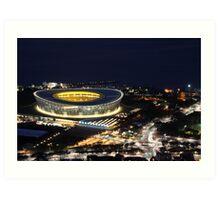 The Stadium Art Print