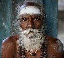 Liberation -  A sadhu in Tiruvannamalai by Antony Kuzmicich
