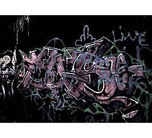 "New Bedford Graffiti, ""Enhanced w/HDR"" Photographic Print"