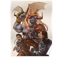Iron Bull - Father of Dragons Poster