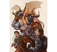 Iron Bull - Father of Dragons Photographic Print