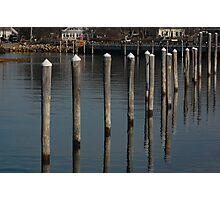 Landscape of Rock Harbor, Winter Photographic Print