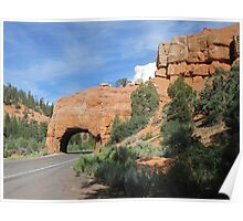 Bryce Canyon Road  Poster