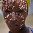 Boy from Arbore tribe, Omo Valley  by Antony Kuzmicich