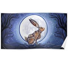 Hare under the moon Poster