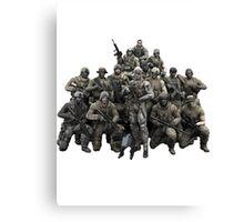 Metal Gear Solid T-shirt Canvas Print