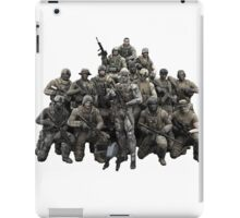 Metal Gear Solid T-shirt iPad Case/Skin