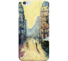 L'escargot on Rue Montorgueil,  Paris,  France  iPhone Case/Skin