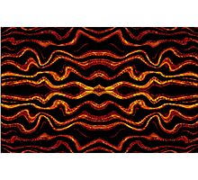 Tribal style pattern Photographic Print