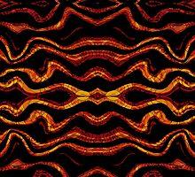 Tribal style pattern by DFLC Prints