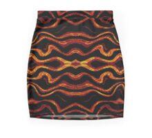 Tribal style pattern Mini Skirt