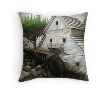 Little Mill House Throw Pillow
