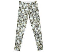 Jewel Beads Collage Pattern Leggings