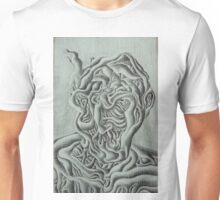 salted wellspring. graphite, oil on wood. 8''x12''. adm sturch Unisex T-Shirt