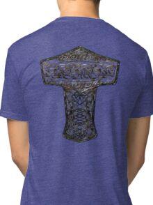 Celtic Wood Hammer Thor Tri-blend T-Shirt
