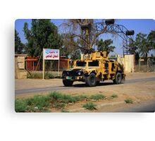 Iraqi Armored HMMWV Canvas Print