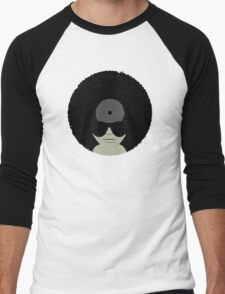 Funky Music Vinyl Records Men's Baseball ¾ T-Shirt