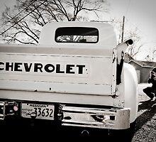 Photographer Shooting a Chevy Truck by nikiatnight