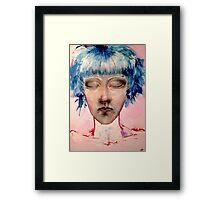 Bubblegum Girl. Framed Print