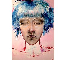 Bubblegum Girl. Photographic Print