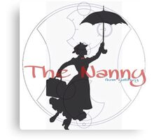 The Nanny Canvas Print