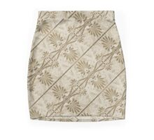 Decorative Swirls Pattern Mini Skirt