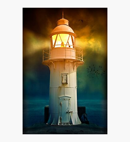 At the Lighthouse Photographic Print