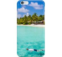 Snorkelling in the Maldivian Atolls - Indian Ocean iPhone Case/Skin