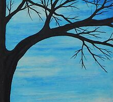 baby blue tree by Heather Anne