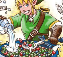 Link's Fruipees (minimalistic)  Sticker