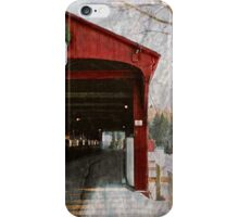 Covered grunge iPhone Case/Skin