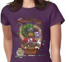 Deku Princess' Bloomy Nuts Womens Fitted T-Shirt