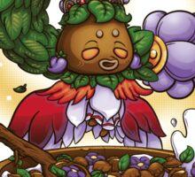 Deku Princess' Bloomy Nuts Sticker