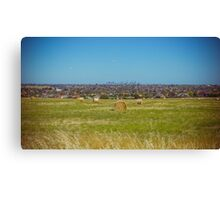 Country, Suburbs and City - Melbourne, Victoria Canvas Print