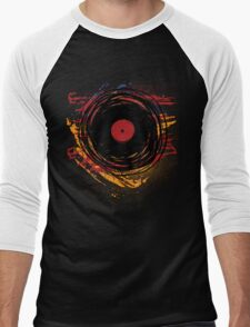 Vinyl Record Retro Grunge with Paint and Scratches - Music DJ! T-Shirt