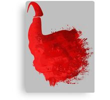 The Red Cap  Canvas Print