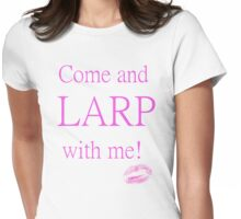 LARPing Girl Womens Fitted T-Shirt