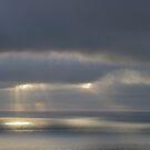 Dark Sky and Light over the Ocean by Daidalos