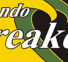 Orlando Breakers Football Team Sticker