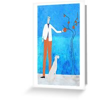 The Orange Tree Greeting Card