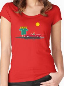 Roadtrip to nowhere Women's Fitted Scoop T-Shirt