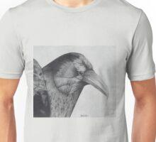 Sitting Raven Unisex T-Shirt