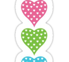 Baby Hearts - colorful Sticker