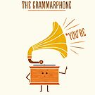 Grammarphone by Teo Zirinis
