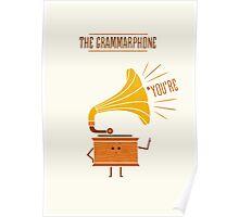 Grammarphone Poster